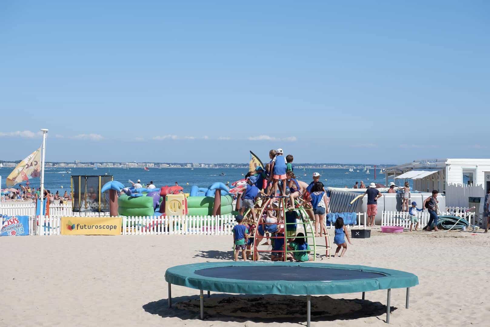 Les clubs de plage