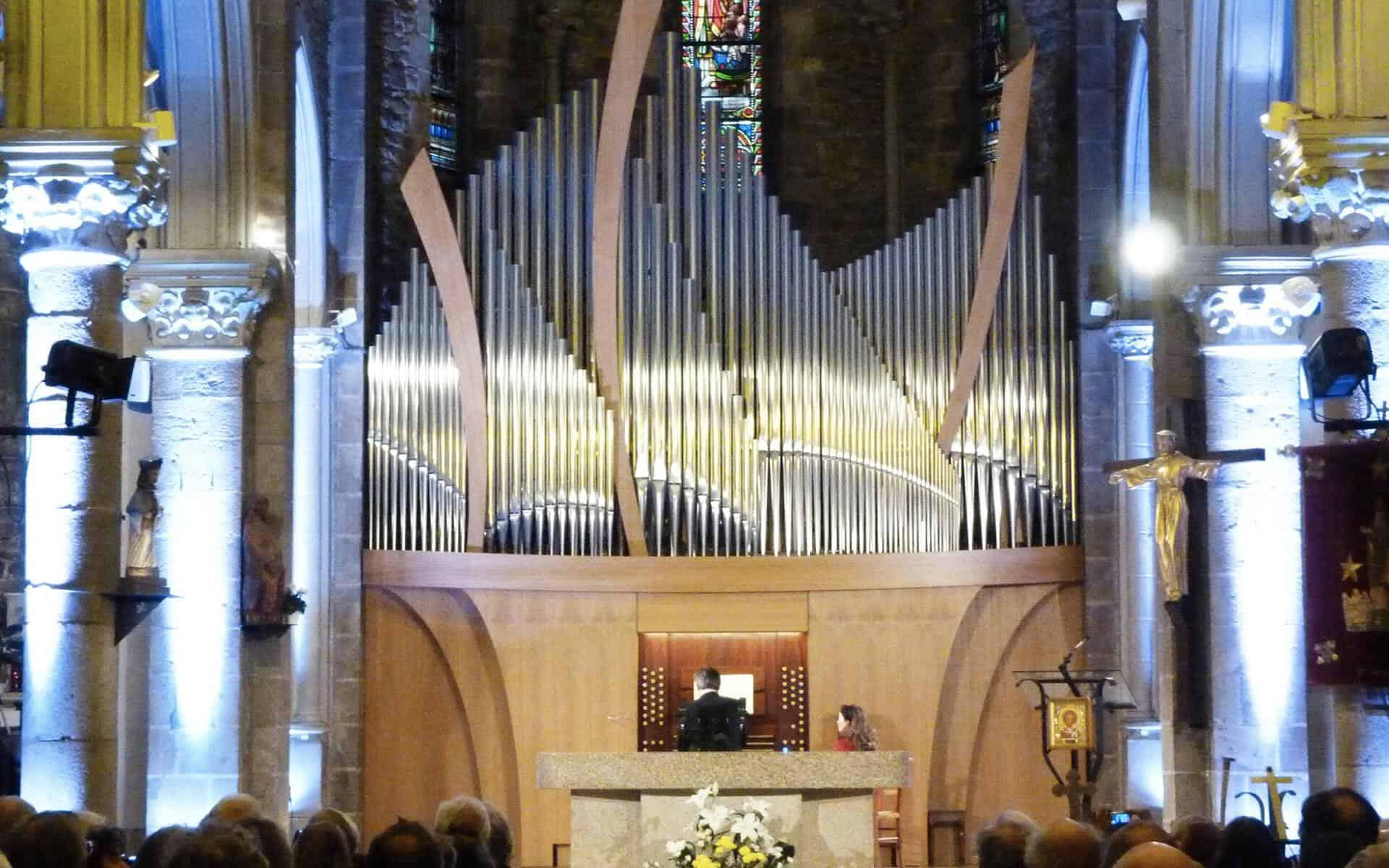 L'église et l'orgue