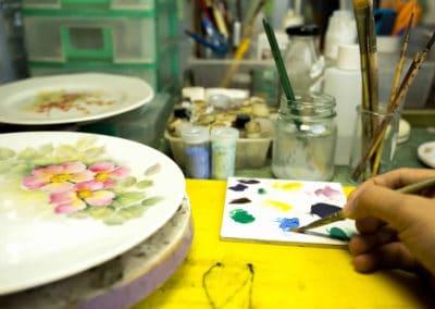 École de peinture sur porcelaine pouliguennaise