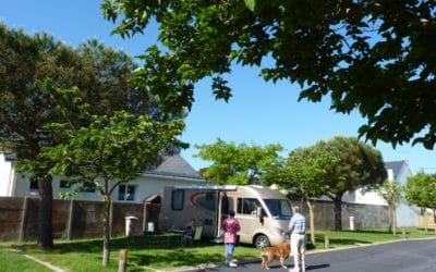 Aire de camping-cars : 16 ampères pour tous les emplacements