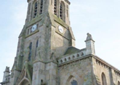 Église Saint-Nicolas patrimoine coeur de ville