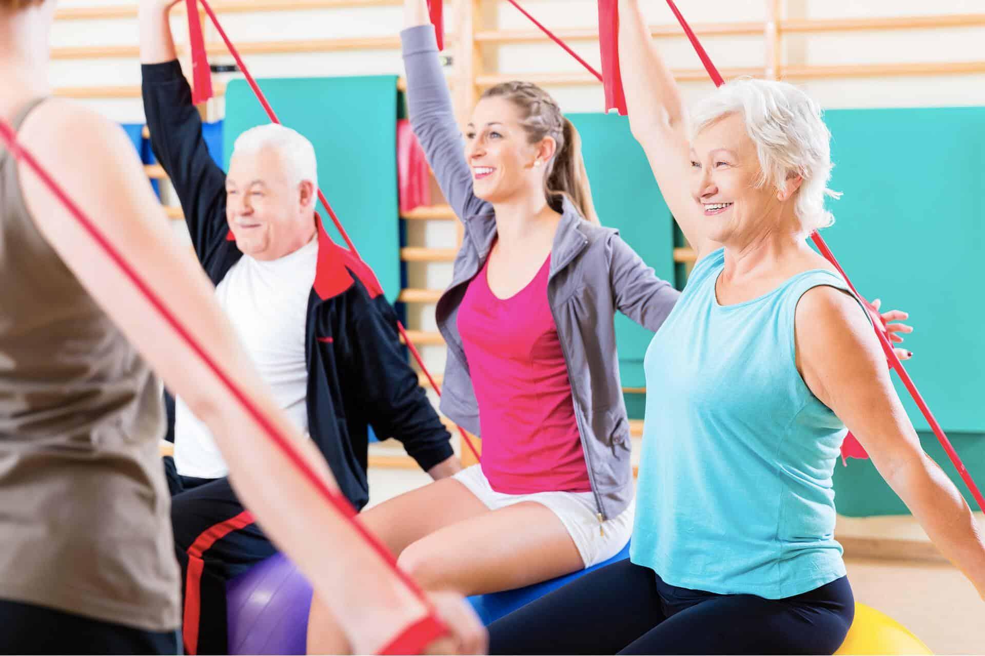 Gym pour les séniors