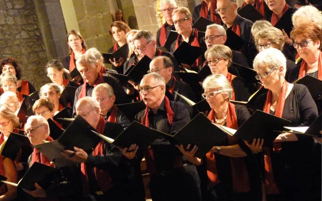 Concert chorale Les embruns et orchestre d'harmonie d'Orvault