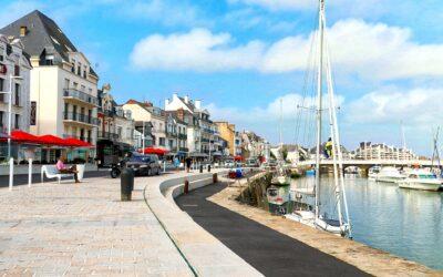 En juillet et août, circulation apaisée sur le quai Jules Sandeau