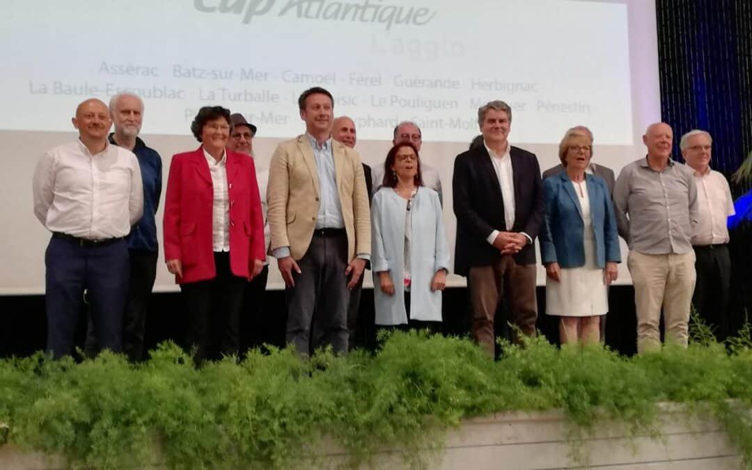 Election du président et des vice-présidents de Cap Atlantique