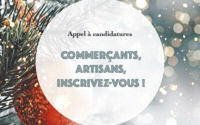 Appel à candidatures dans le cadre du marché de Noël organisé par la Ville du Pouliguen