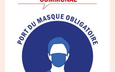 Port du masque obligatoire dans tout le département