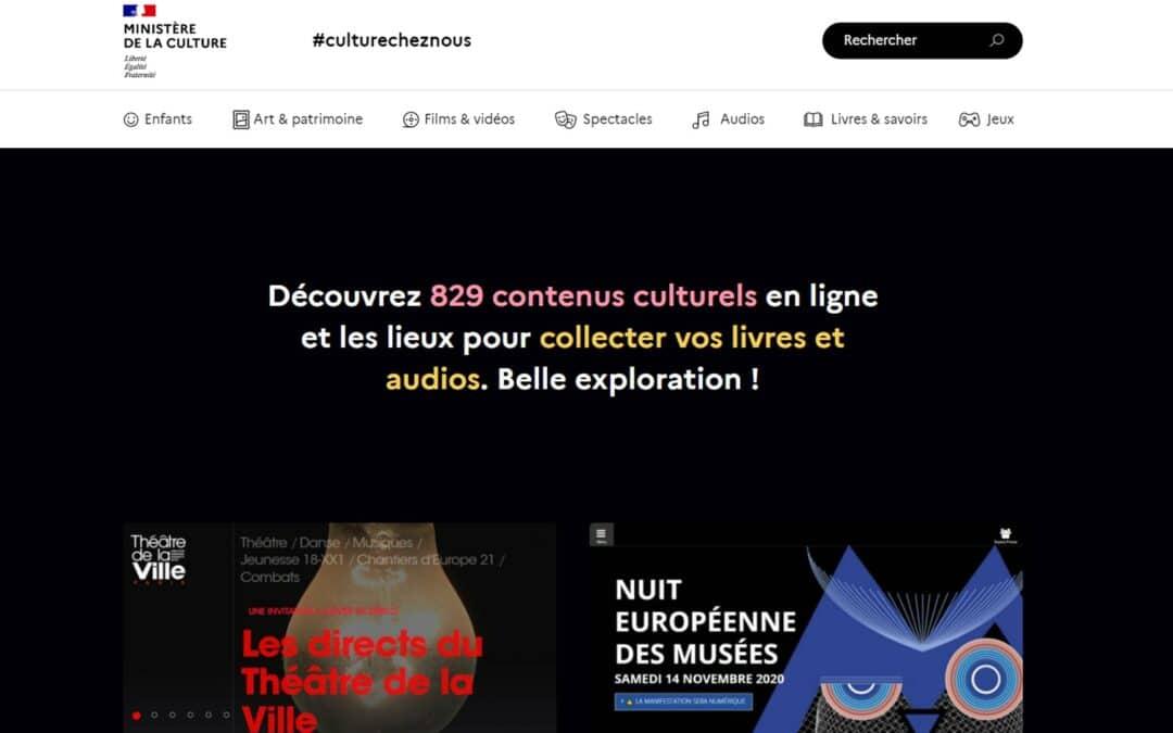 Confinement : Culture, sport, art… partageons les ressources numériques