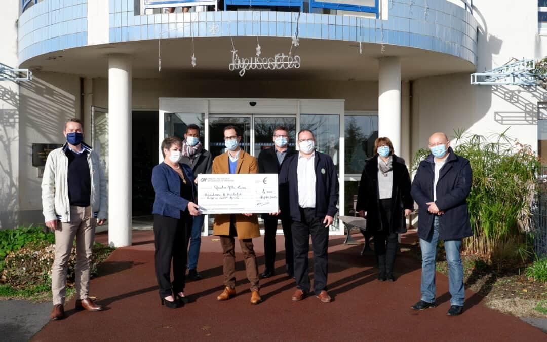 4000 € pour l'EHPAD Andrée Rochefort