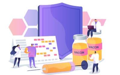 Élections : des membres de bureaux de vote vaccinés