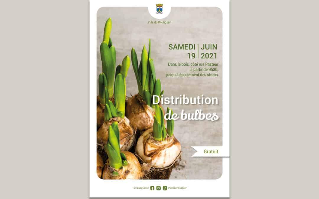 Distribution gratuite de bulbes